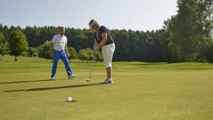 Golftraining bei Howard Francis